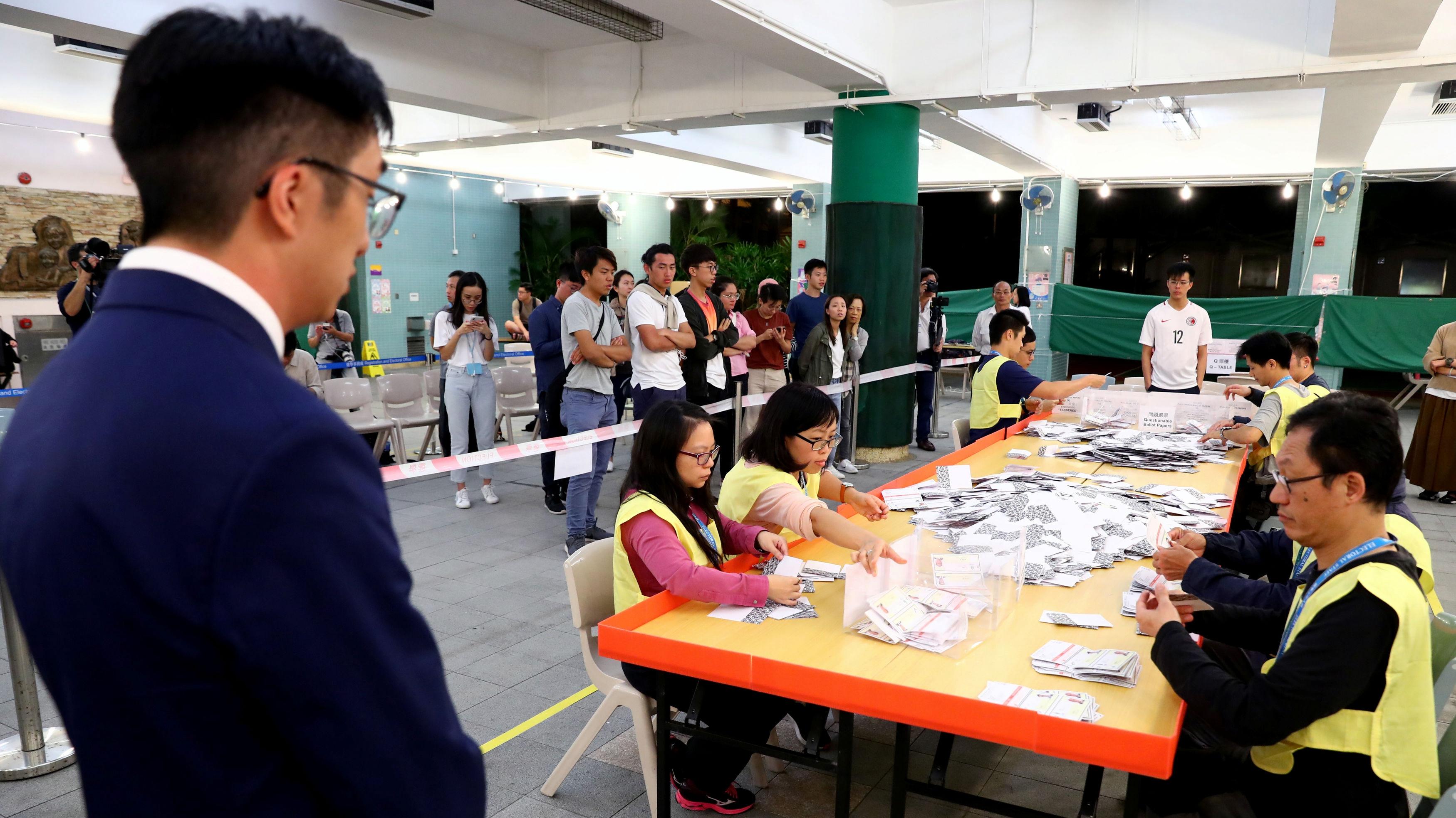 HKSAR completes sixth-term district council election