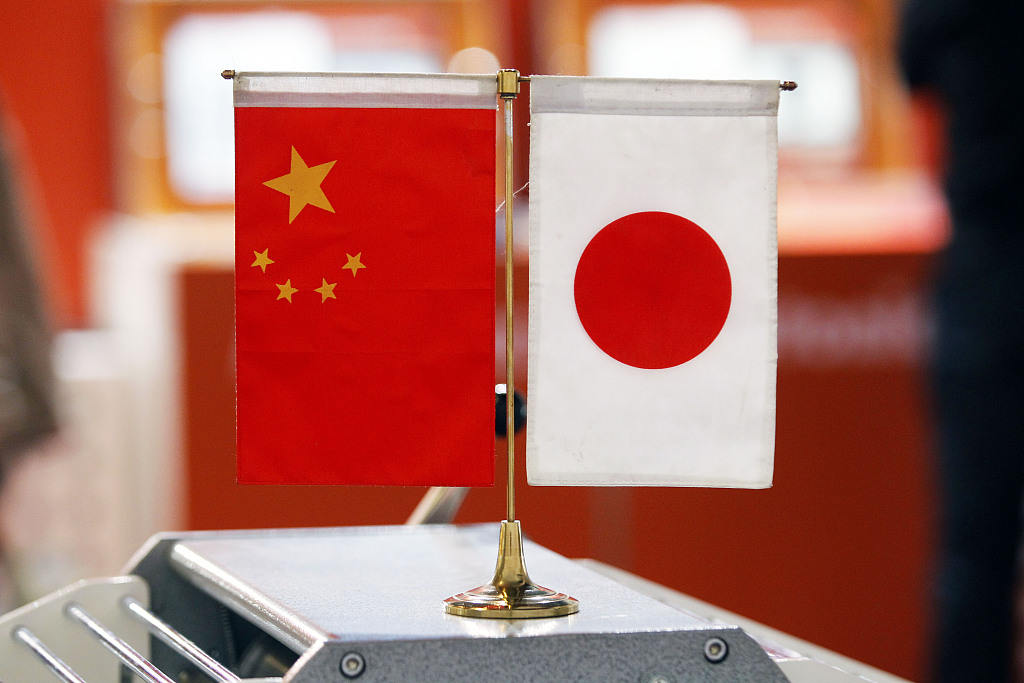 China, Japan agree to further improve ties, strengthen people-to-people exchanges