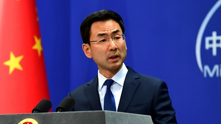 Beijing: Western media put on 'clumsy farce' on 'Chinese agent'