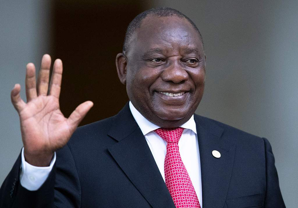 S. African president launches campaign against gender-based violence