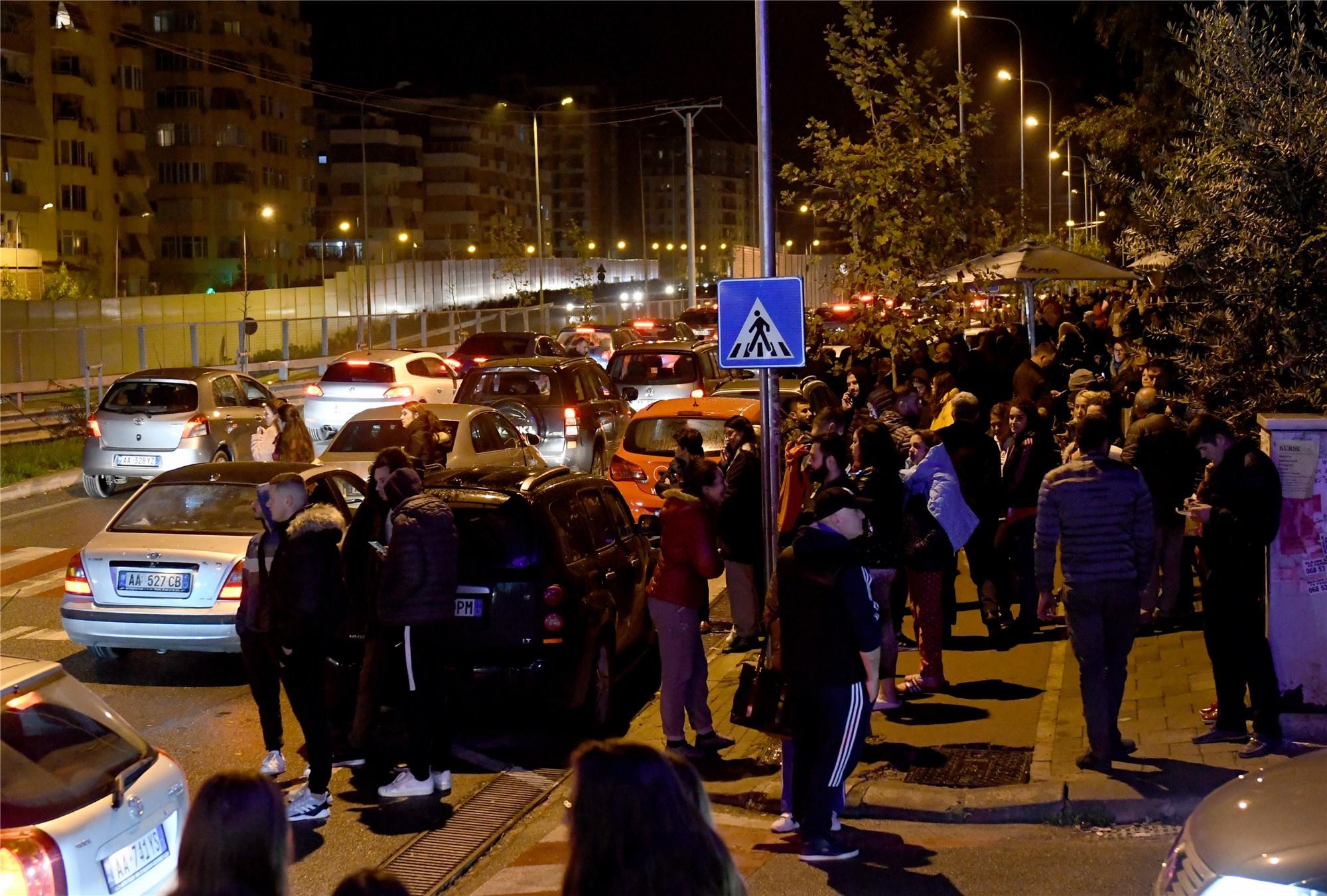 6.4-magnitude quake strikes Albania: authorities