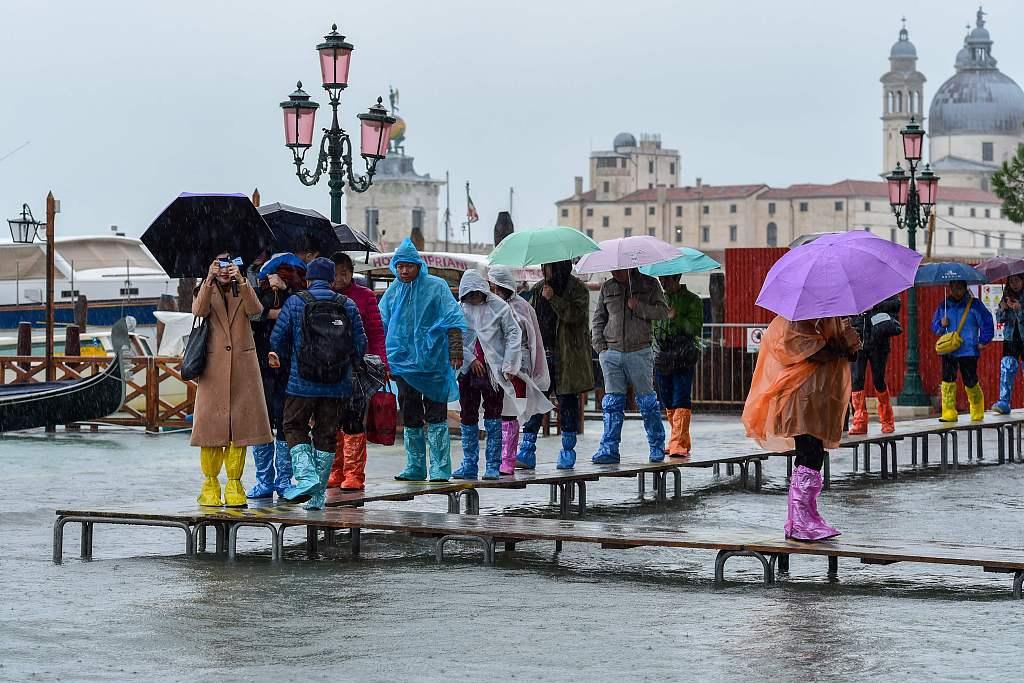 UNESCO awaits damage report from flood-battered Venice