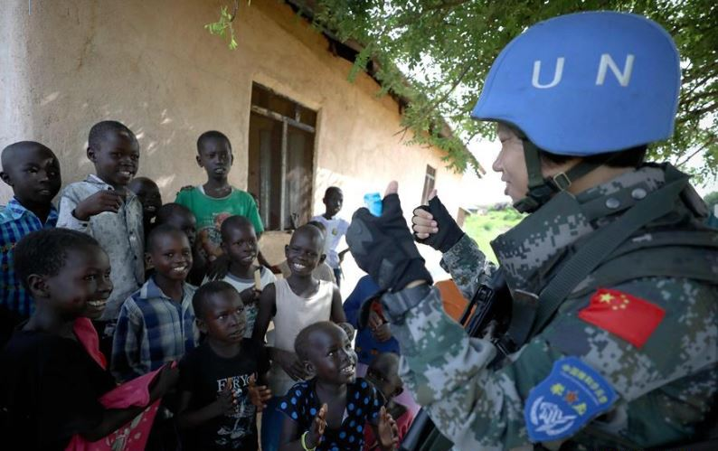 240 Chinese peacekeepers return from South Sudan after mission