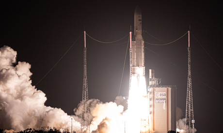 Egypt successfully launches 1st telecom satellite