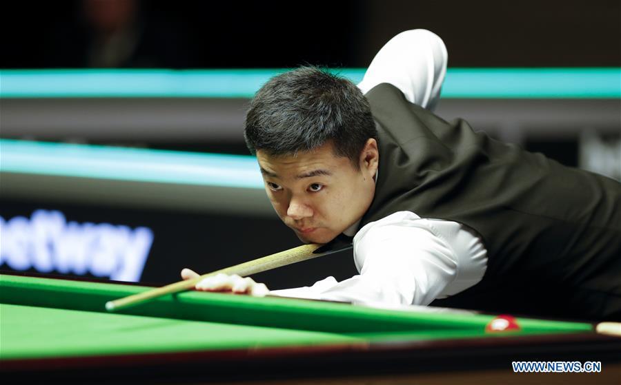 1st round match at Snooker UK Championship: Ding Junhui vs. Duane Jones