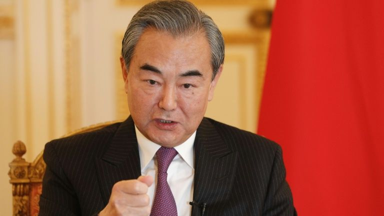Chinese State Councilor meets foreign guests on Middle East security