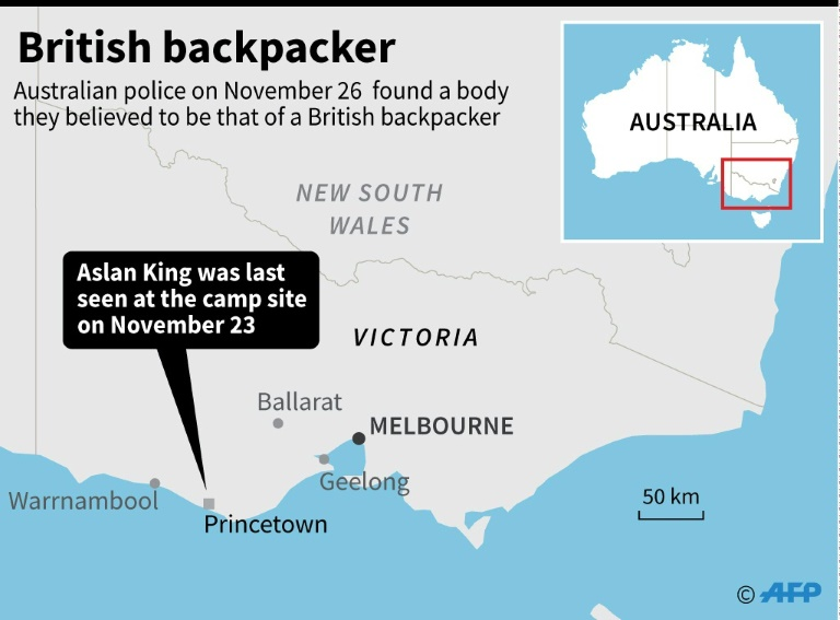 Body found in Australia search for British backpacker