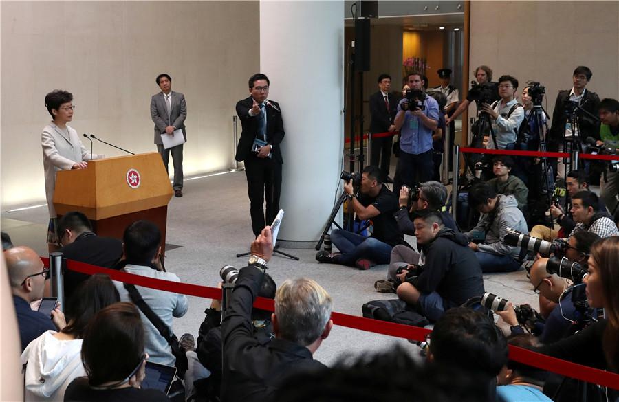 US urged to avoid enacting HK bill