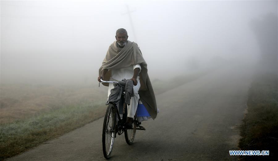 Dense fog hits Jammu, winter capital of Indian-controlled Kashmir