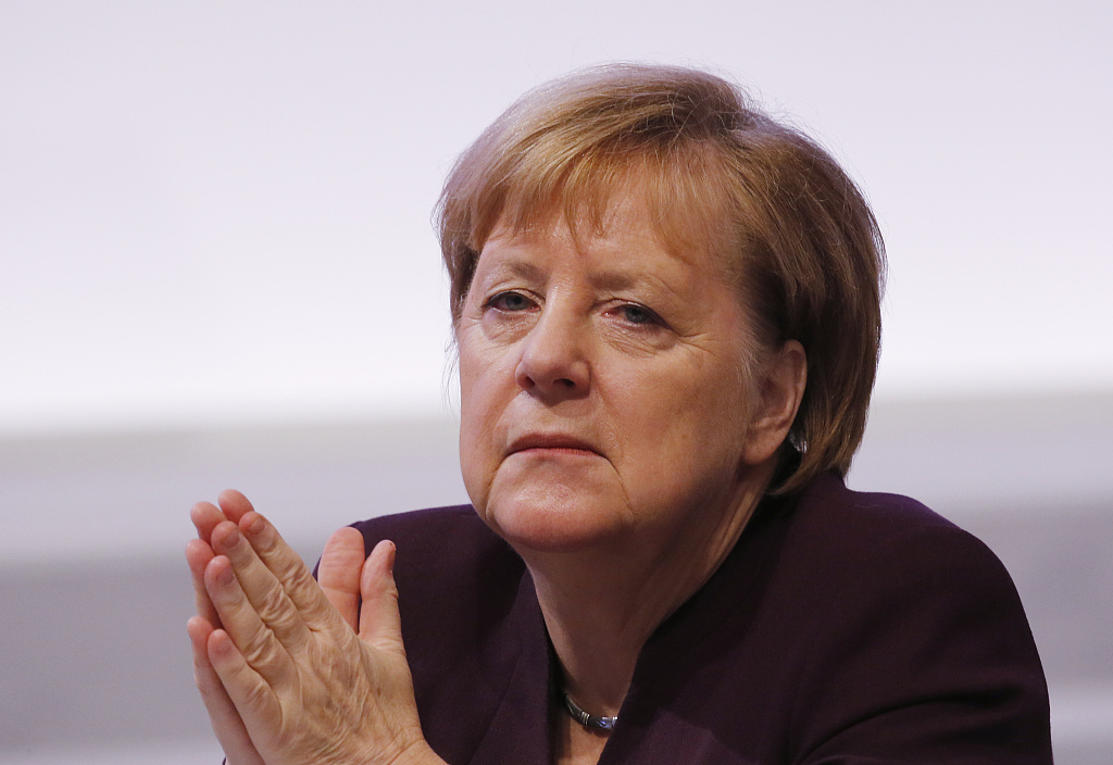 Merkel's future in balance as SPD picks new leaders