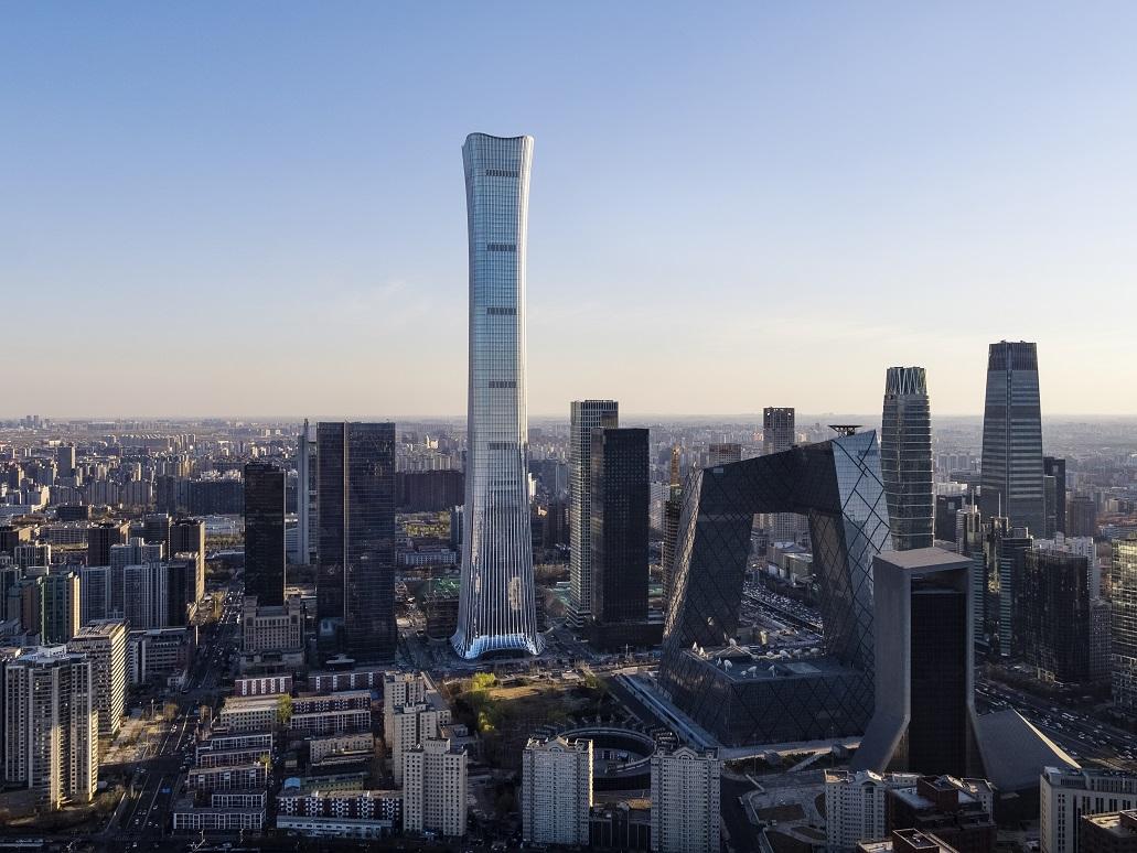 Beijing's tallest landmark passes another milestone