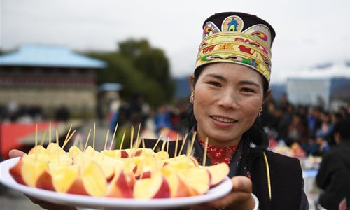 80 percent of Beijing's aid to Tibet goes to livelihood projects