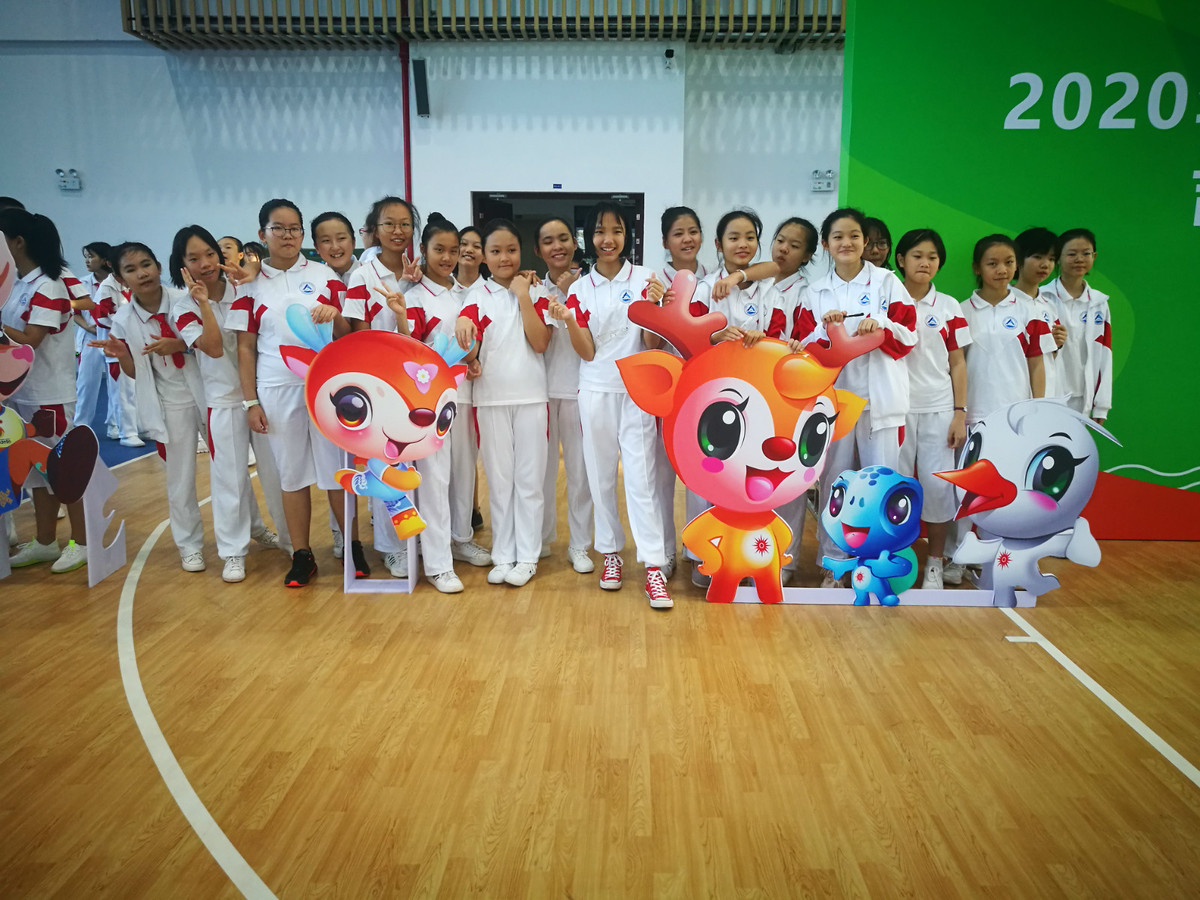 Mascot for Hainan's first continental-level sports event unveiled