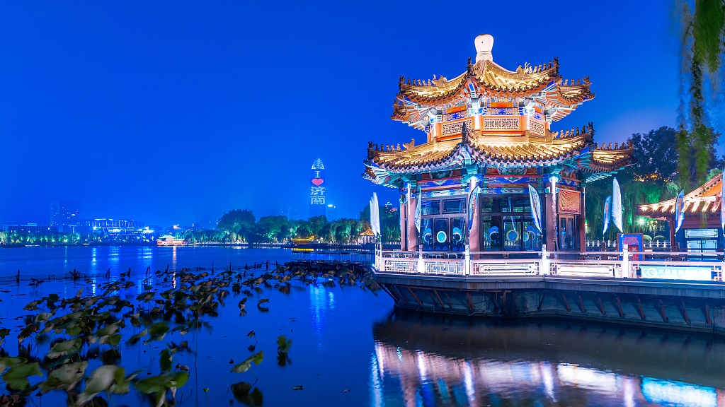 Travel around east China's Shandong by circular high-speed rail