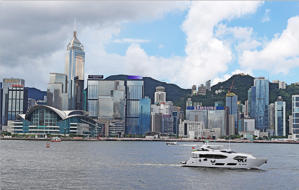Chinese central gov't strongly condemns US signing Hong Kong-related act into law