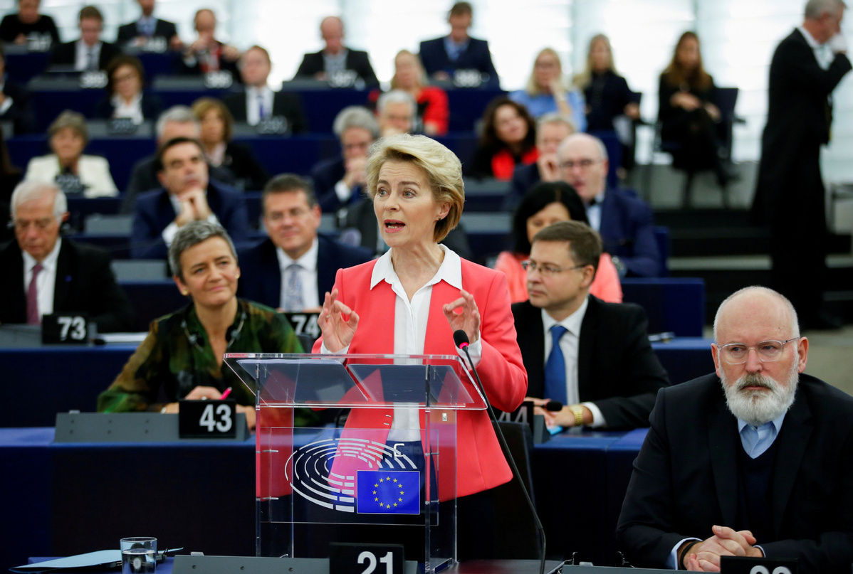 New EU chief champions cooperation