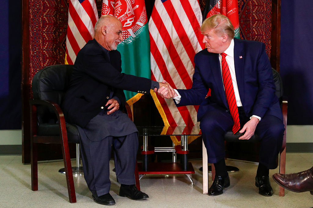 US president makes surprise visit to Afghanistan