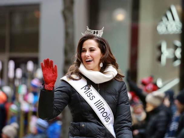 Performers attend Thanksgiving Day Parade in Chicago