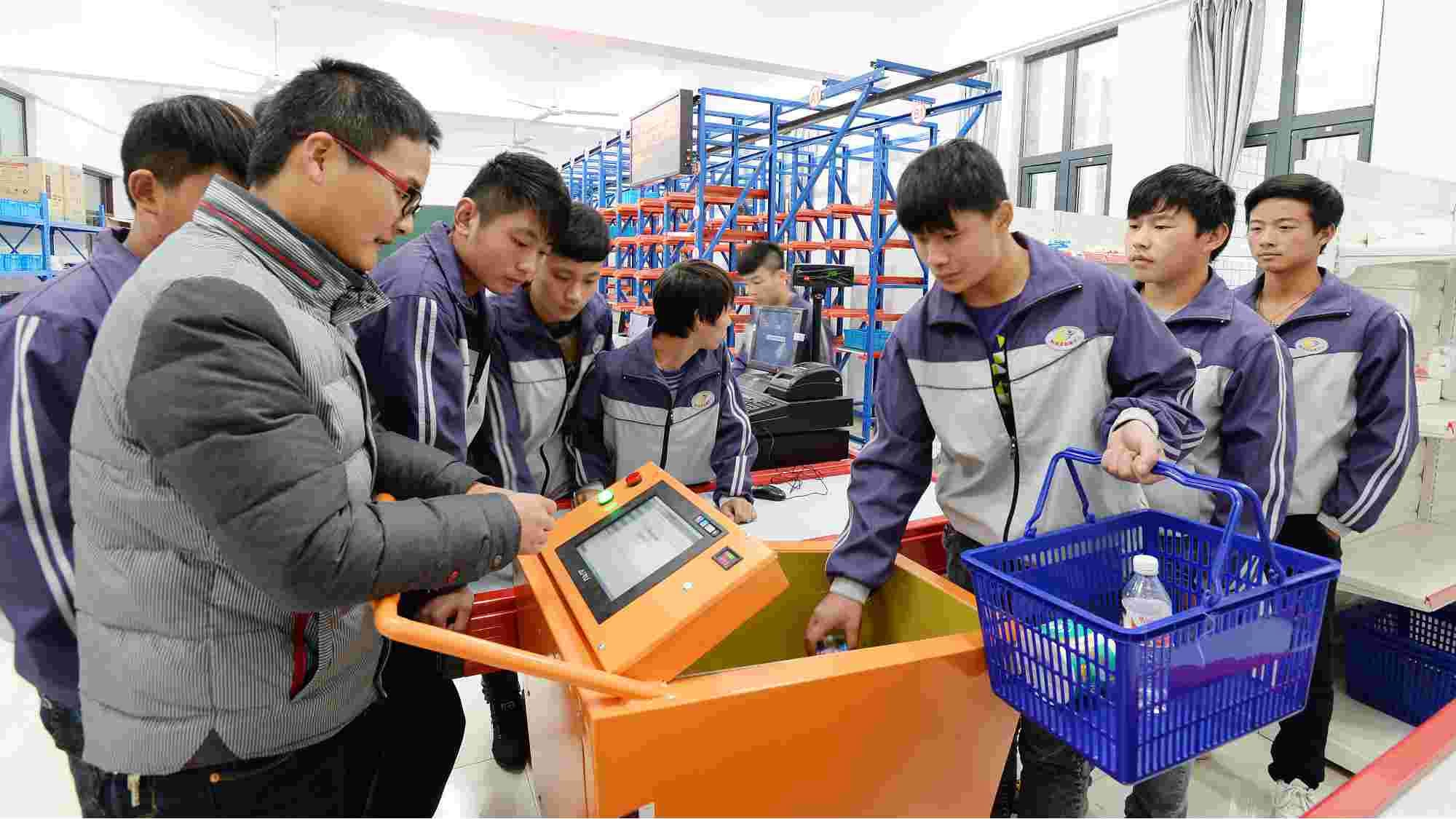 Vocational education helps with poverty alleviation in China: report
