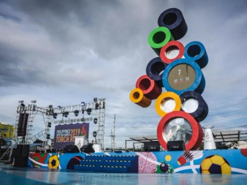 30th Southeast Asian Games opens in the Philippines