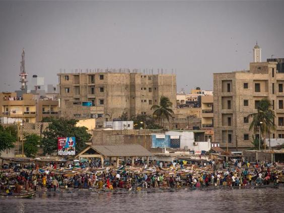 City view of Senegal's Dakar
