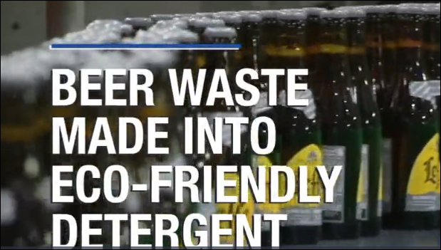 Beer waste made into eco-friendly detergent