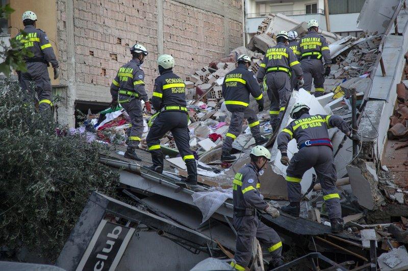 Balkan countries rush to help in Albanian earthquake