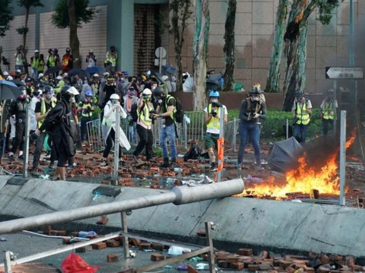 HK Polytechnic University severely damaged by rioters: president