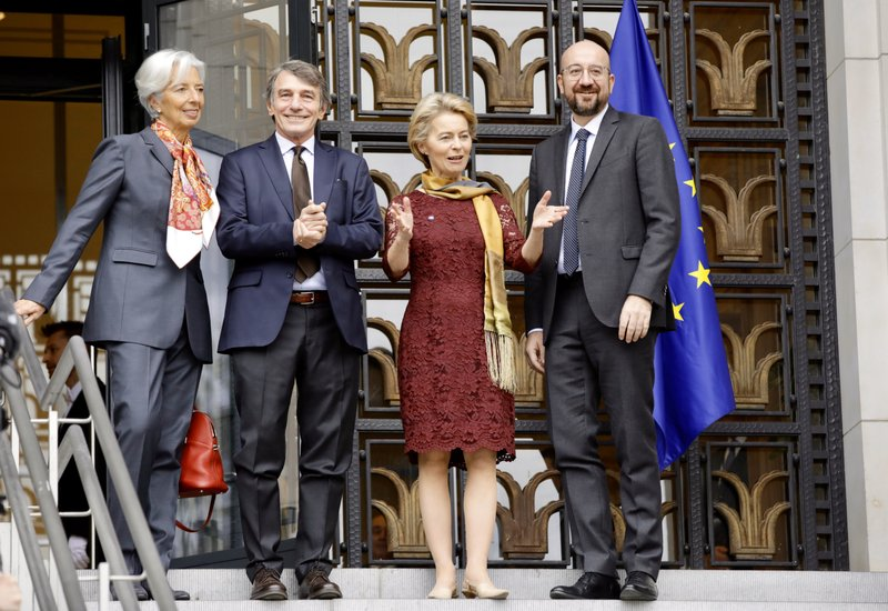 The EU ushers in its new heads of commission and council
