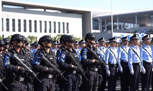 Zhuhai police hold anti-terror drills at Hong Kong bridge port