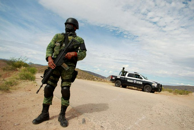 At least 14 dead in Mexico gunfight