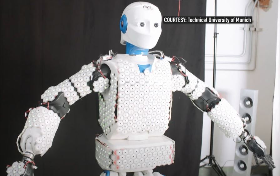 Robots with skin