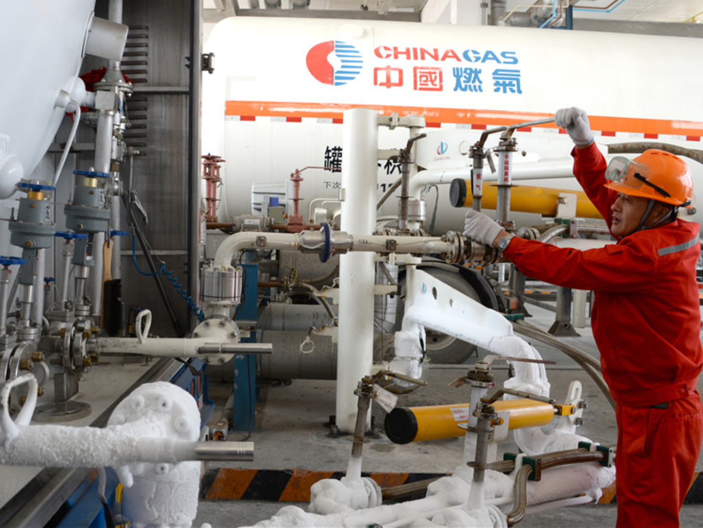 China's natural gas import posts slower growth in October