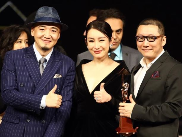 Chinese actress says Chinese movies win plaudits at Cairo int'l film festival