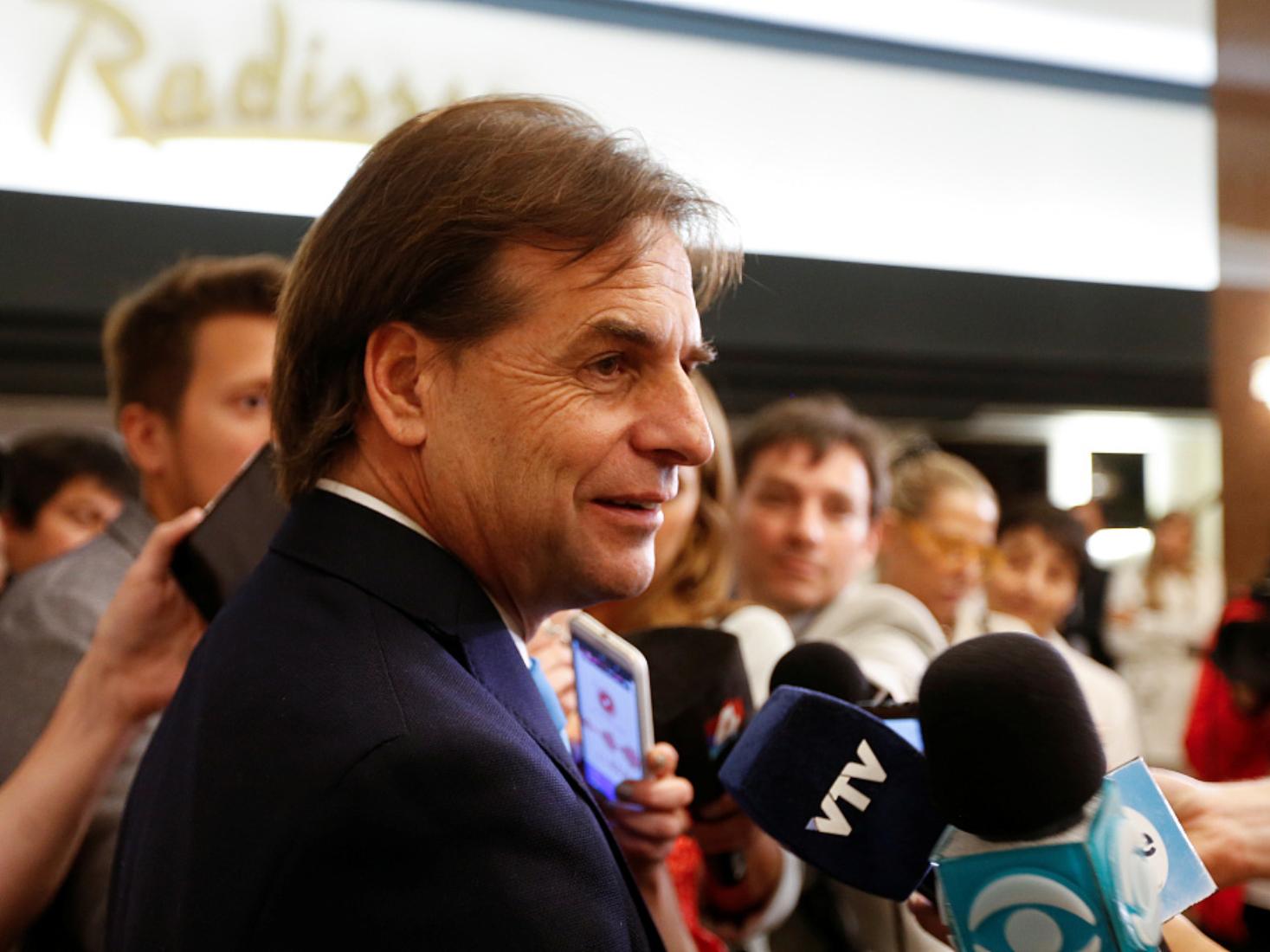 Uruguay's Electoral Court proclaims Lacalle Pou as president-elect