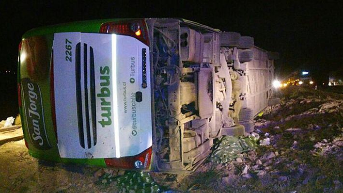 At least 17 killed, 22 injured in rollover accident in north Chile