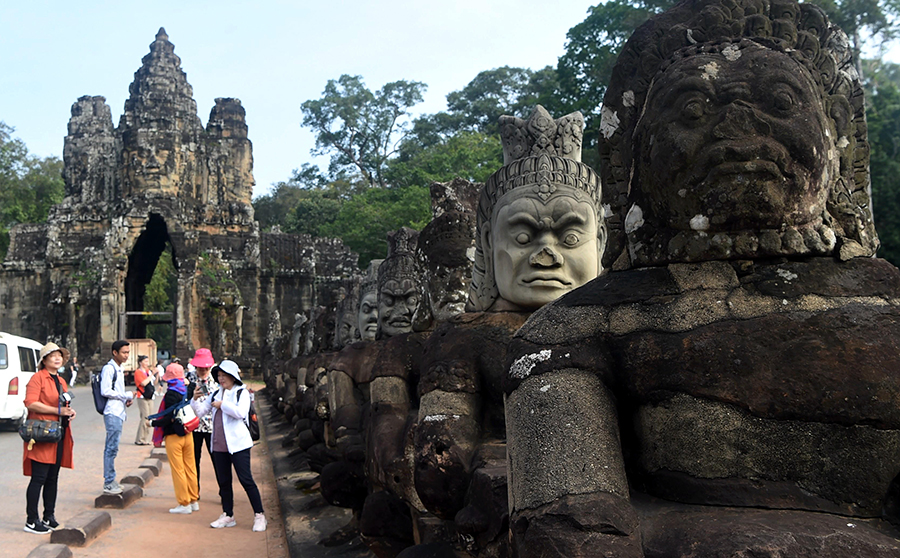 International cooperation vital to save Angkor Wat