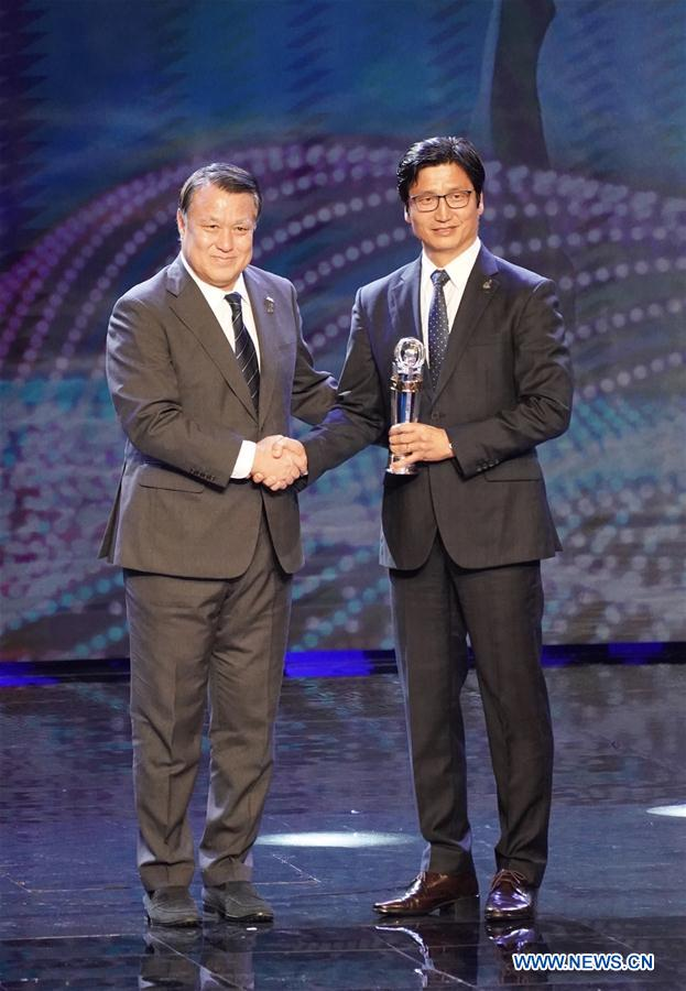 Asian Football Confederation's Annual Awards ceremony held in Hong Kong