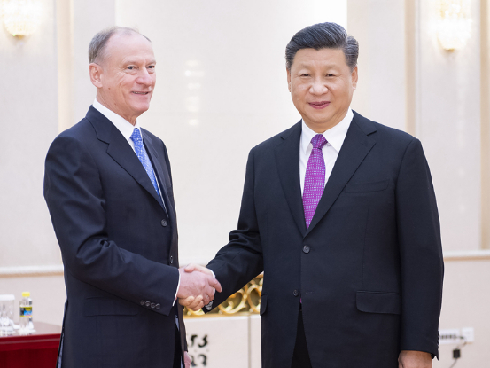 Xi stresses strong strategic support between China, Russia