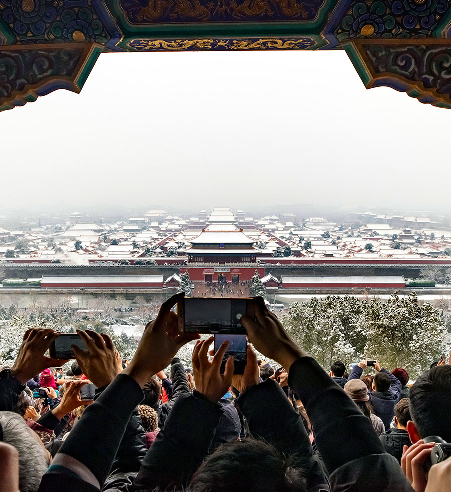 First Beijing snowfall leads online vendors to offer unique services