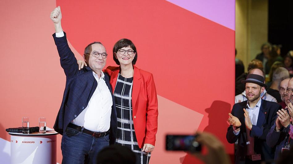 Merkel's future in doubt after SPD leadership change