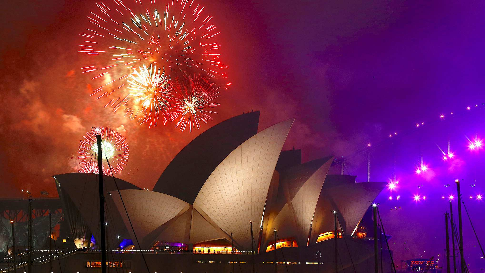 Sydney New Year's Eve show, gift to the world: mayor