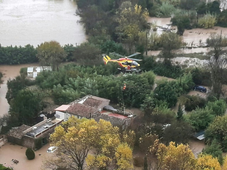 Six die, including rescuers, in France's flood-hit south