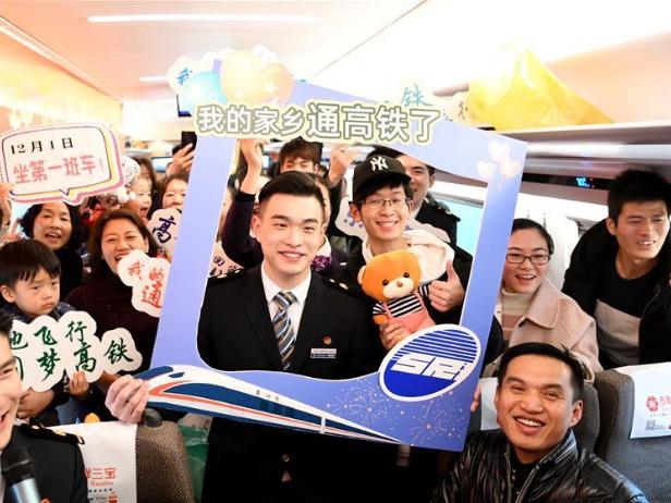 High-speed railway linking Shangqiu and Hefei, Zhengzhou and Fuyang put into operatioin