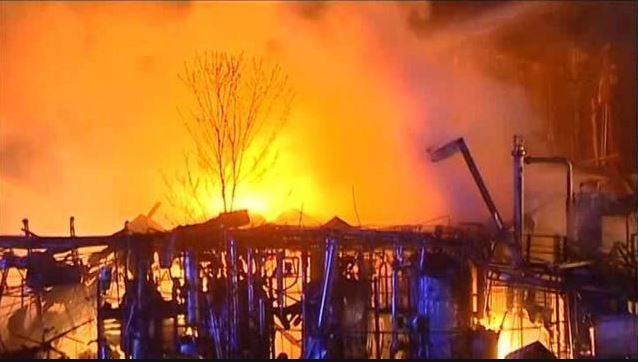 1 dead, 2 missing after factory blast in suburban Beijing