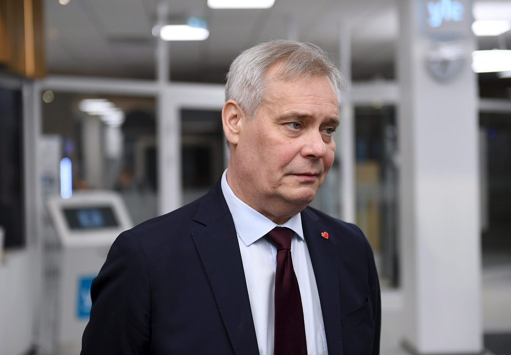 Finnish PM Rinne decides to resign