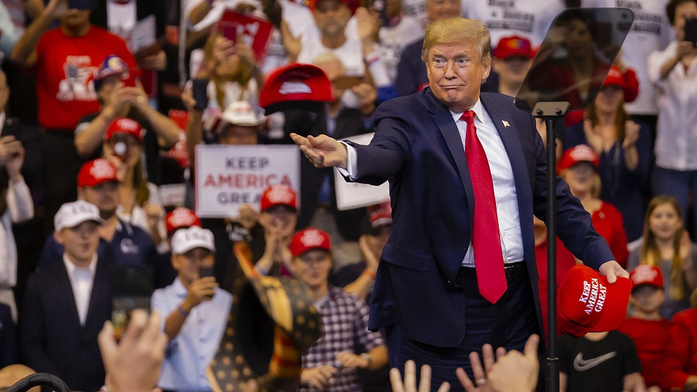 Bloomberg reporters barred from Trump 2020 events