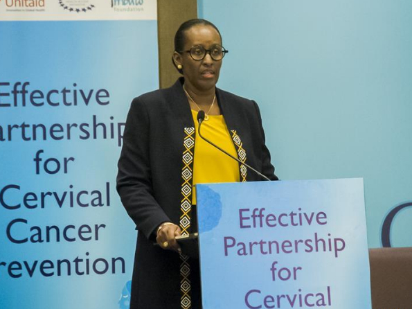 Rwanda calls for joint efforts to fight against cervical cancer