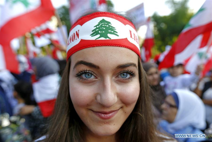 People take part in protest against government's policies in Lebanon