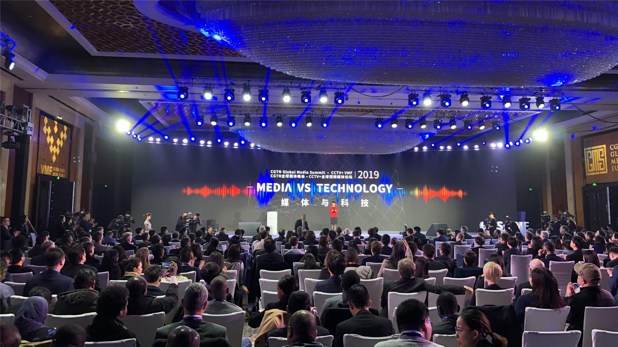 2019 CGTN Global Media Summit & VMF opens in Beijing